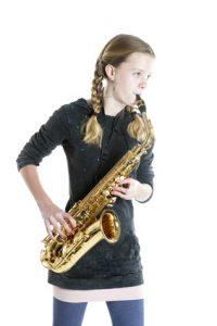 Saxophon-Unterricht Freiburg Kind Saxophon